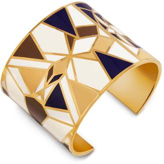 Tory Burch KALEIDOSCOPE ENAMELED STATEMENT CUFF