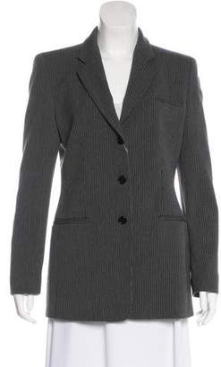 Armani Collezioni Virgin Wool Button-Up Blazer w/ Tags