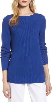 Halogen Cross Back Sweater