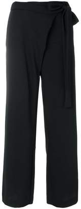 P.A.R.O.S.H. tie-fastening palazzo pants
