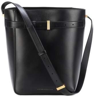Victoria Beckham Twin Bucket leather shoulder bag
