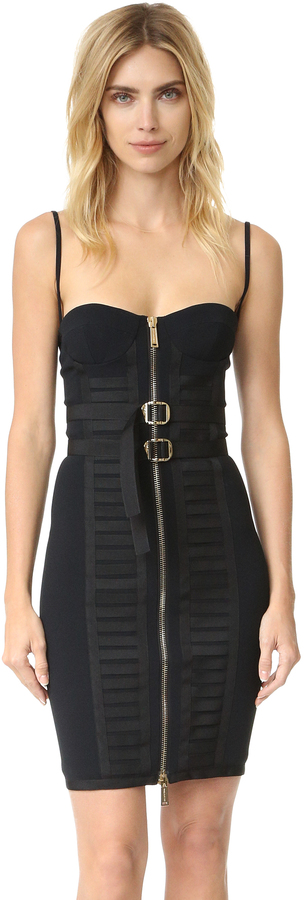 DSQUARED2 Military Bustier Dress