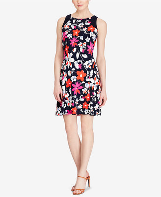 American Living Floral-Print Jersey Dress $79 thestylecure.com