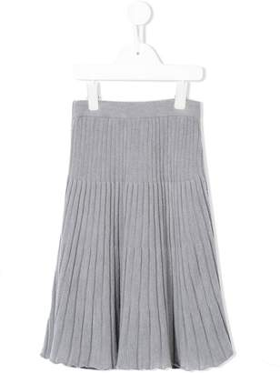 Familiar ribbed skirt