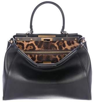 Fendi Medium Peekaboo Leather Bag