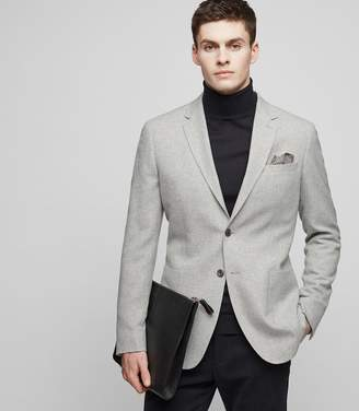 Reiss SODIUM Notch lapel blazer