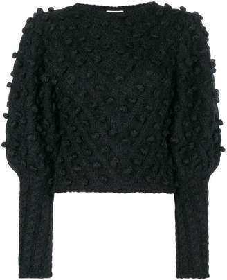 Zimmermann pom pom knit jumper