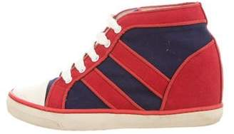 Isabel Marant Spikes Wedge Sneakers
