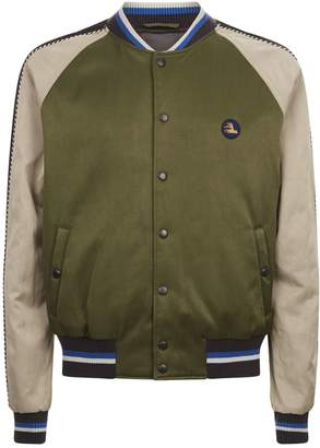 Lanvin Bird Bomber Jacket