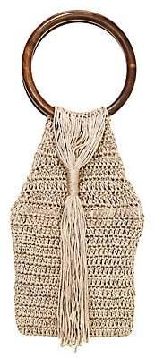 All Things Mochi Women's Kai Crochet Top Handle Bag