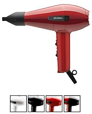Elchim Classic 2001 Hair Dryer: Lightweight 1875 Watt Quick Dry Professional Salon Blow Dryer