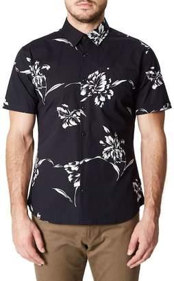 7 Diamonds Harvest Moon Trim Fit Short Sleeve Sport Shirt
