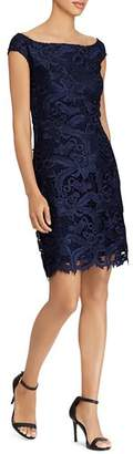 Ralph Lauren Lace Cocktail Dress