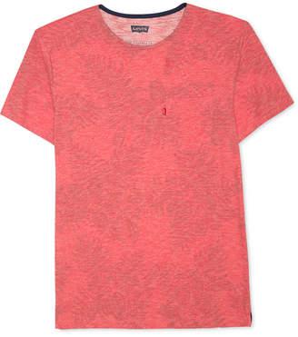 Levi's Men's Heathered Leaf-Print T-Shirt