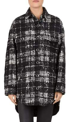 The Kooples Past Checks Coat
