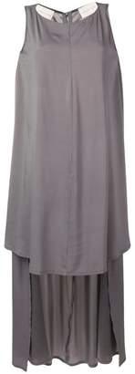 Sartorial Monk high-low hem dress