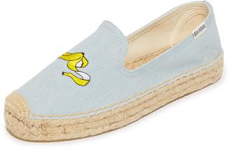 Soludos Banana Platform Smoking Slippers $75 thestylecure.com