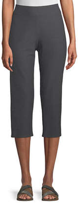 Eileen Fisher Slim Crepe Capri Pants