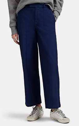 Alex Mill Women's Cotton Wide-Leg Trousers - Navy