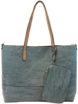 Joy Susan Accessories Brushed 2in1 Tote