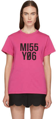 RED Valentino Pink Miss You T-Shirt