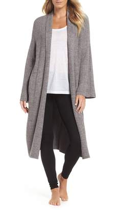 Barefoot Dreams R) CozyChic(R) Lite Cross Creek Long Cardigan