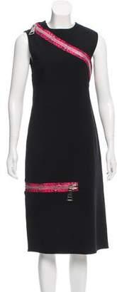 Christopher Kane Zipper-rimmed Sleeveless Dress