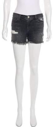 J Brand Vagabond Mid-Rise Mini Shorts