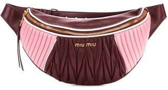 Miu Miu Leather belt bag