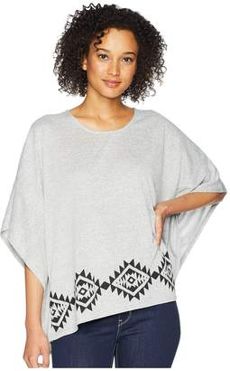 Roper 1774 Sweater Knit Poncho Women's Sweater