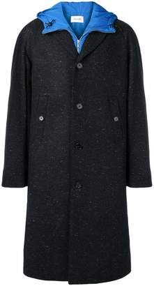 Wood Wood long hooded coat