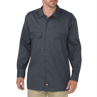Dickies Relaxed Fit Flex Twill Work Shirt - Big