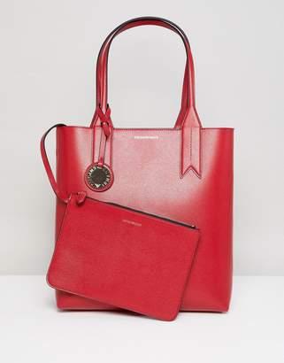 Emporio Armani Shopper Bag with Mini Clutch