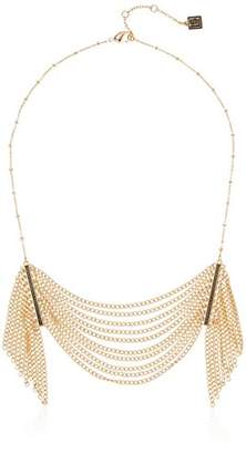 Laundry by Shelli Segal Fringe Frontal Chain Necklace