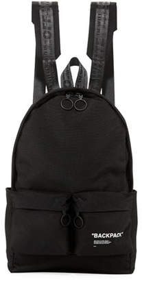 Off-White Men's Air Quote Canvas Backpack