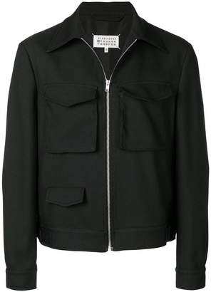 Maison Margiela overshirt patch pocket jacket