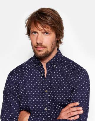 Joules Clothing Chadwick slim fit Printed Oxford Shirt