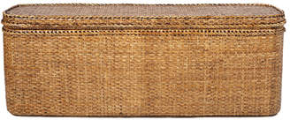 OKA Rattan Indochine Bed-End Chest