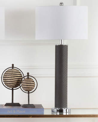 Safavieh Ollie Faux-Leather Table Lamps, Set of Two