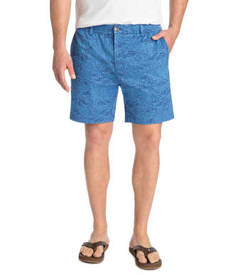 Vineyard Vines 7 Inch Tonal Printed Jetty Shorts