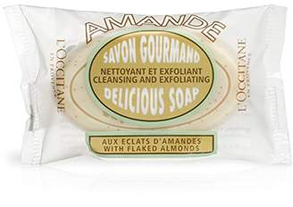 L'Occitane Exfoliating Almond Delicious Soap With Ground Almond Shells and Sweet Almond Oil