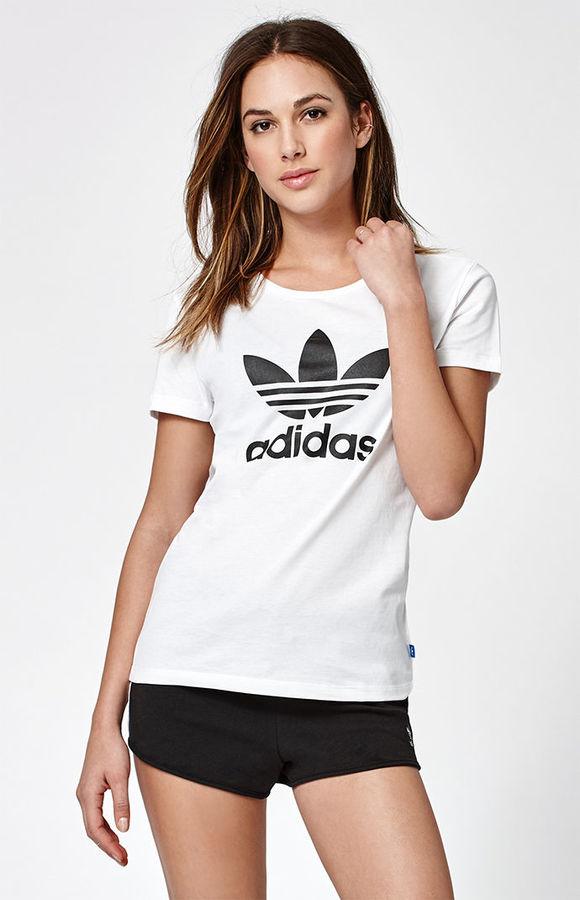 adidas Adicolor Trefoil Short Sleeve T-Shirt