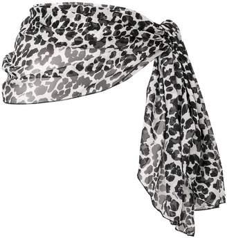 b90e5d6d02 Fisico leopard print pareo