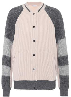 Brunello Cucinelli Striped cashmere cardigan