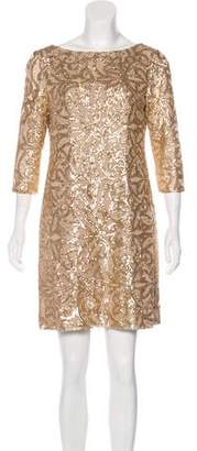 Lauren Ralph Lauren Sequined Mini Dress