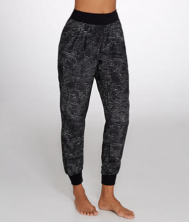 Calvin Klein Performance Printed Woven Jogger Pants