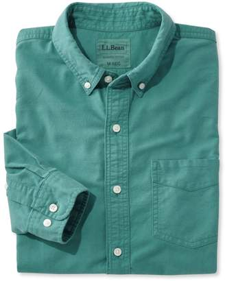 L.L. Bean L.L.Bean Lakewashed Sport Shirt, Slightly Fitted