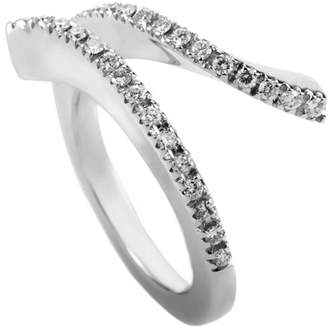 Damiani 18K 0.26 Ct. Tw. Diamond Ring