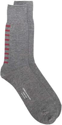 Comme des Garcons stripe detail socks