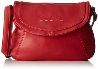 Little Marcel Id05, Women's Cross-Body Bag, Rouge (), 6x19x25 cm (W x H L)